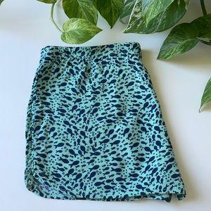 🆕Xhilaration Fish Print Poplin PJ Shorts
